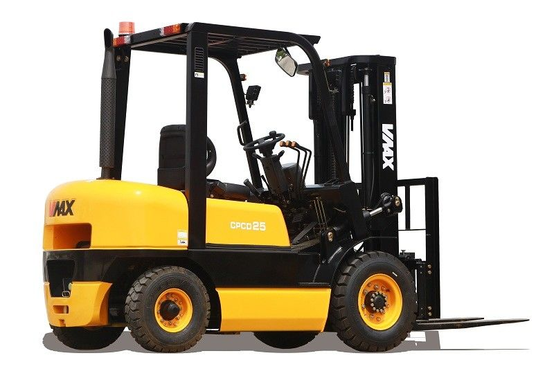 High Rack Warehouse Diesel Powered Forklift Automatic Lift Truck 4T Capacity