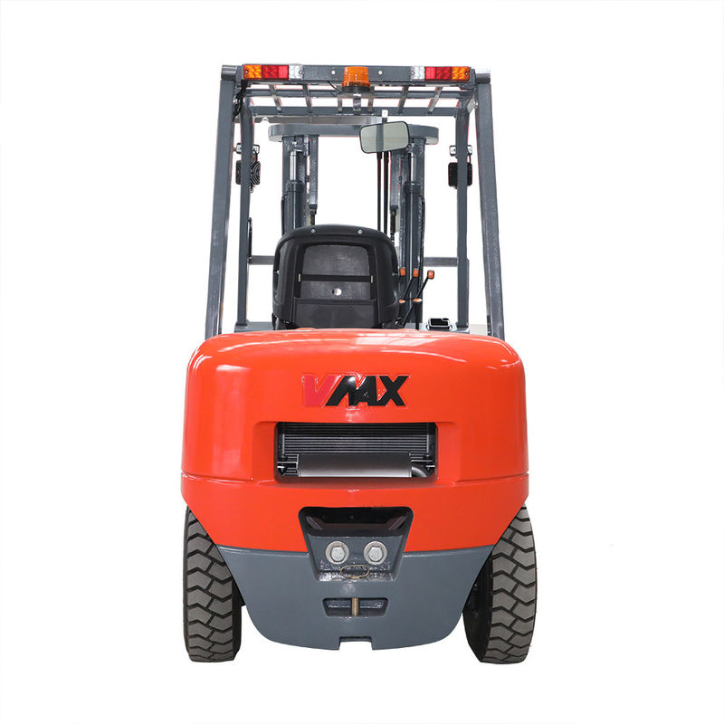 5000kg Load Capacity Diesel Powered Forklift AC Motor With ISUZU Engine