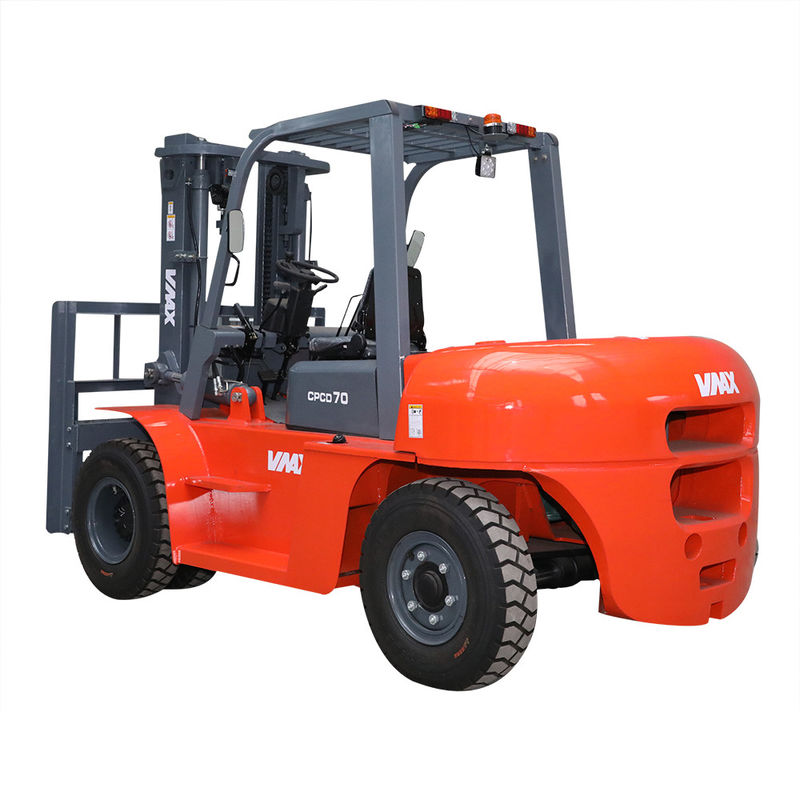 13 Ton Diesel Engine Forklift Truck 6 Cylinder AC Motor High Efficiency For Port