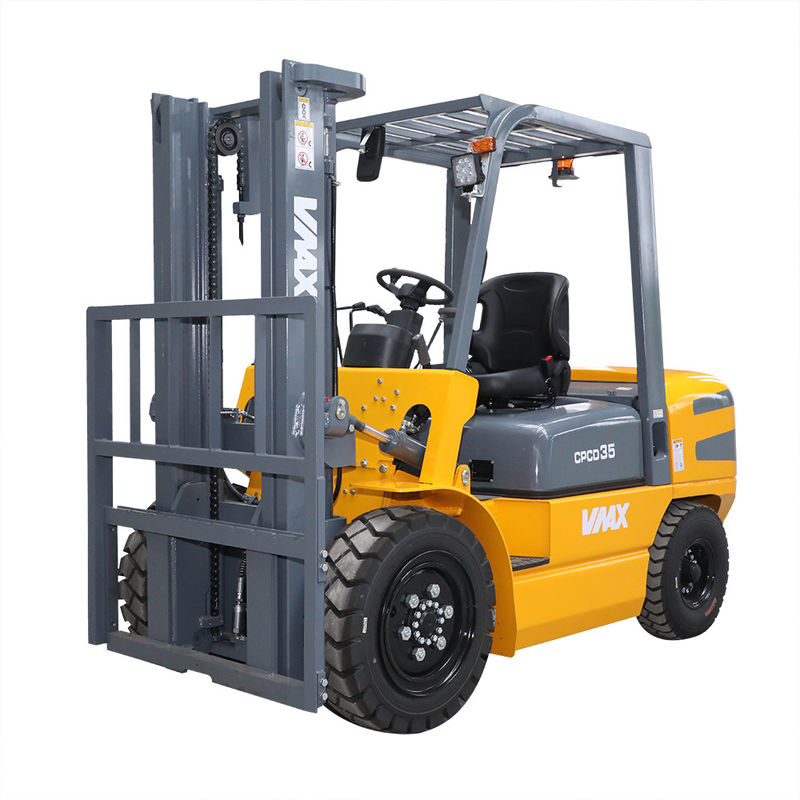 High Performance Diesel Powered Forklift Rough Terrain Forklift Truck