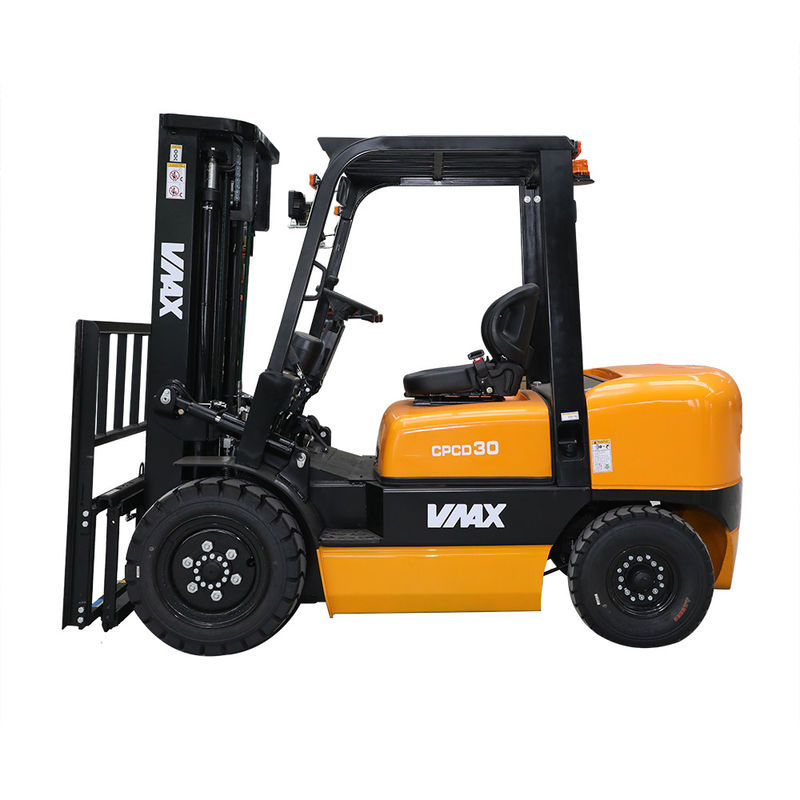 Automatic 3.5 Ton Diesel Powered Forklift CPCD35 Max Lift Height 6000mm