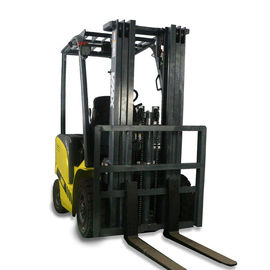 electric lifts for warehouse reach lift truck CPD18 yellow electric forklift